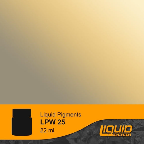 LifeColor LPW25 Liquid Pigments Rail Dust (22ml) - SGS Model Store