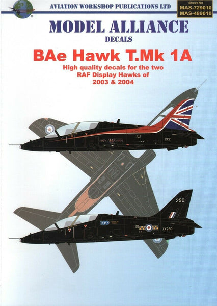 Model Alliance MAS-489010 1/48 RAF Display Hawks Model Decals - SGS Model Store