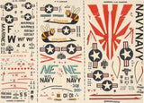 Modeldecal 15 1/72 USN and USMC Model Decals - SGS Model Store