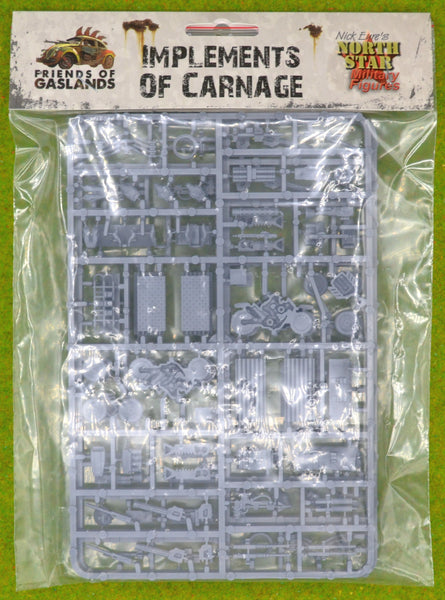 Gaslands Implements of Carnage NSPIoC5 20mm Sprues
