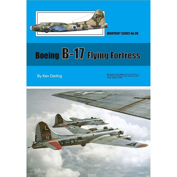 Warpaint Series No 90 Boeing B-17 Flying Fortress
