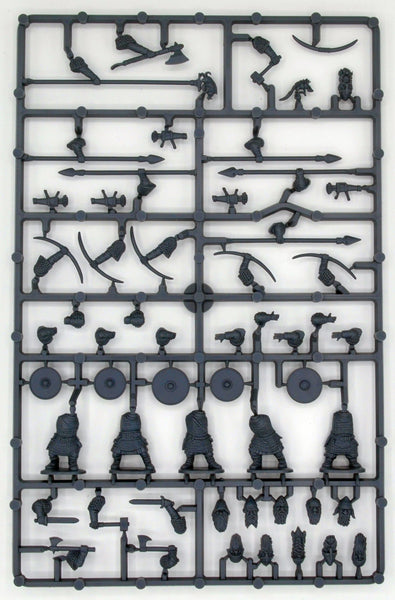 Oathmark Battles of the Lost Age 1/56 (28mm) Dwarf Infantry Sprue - SGS Model Store