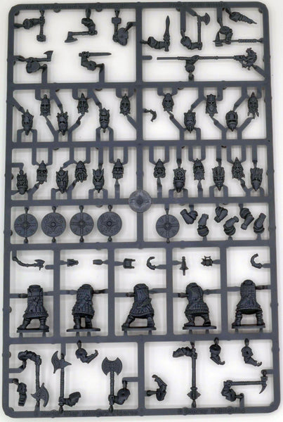 Oathmark Battles of the Lost Age 1/56 (28mm) Dwarf Heavy Infantry Sprue - SGS Model Store