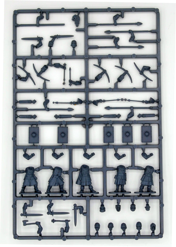 Oathmark Battles of the Lost Age 1/56 (28mm) Human Infantry Sprue - SGS Model Store