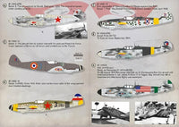 Print Scale 72-310 1/72 Messerschmitt Bf-109G Gustav Model Decals - SGS Model Store