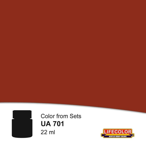 Lifecolor UA701 Rust Dark Shadow (22ml) FS 30108 Acrylic Paint - SGS Model Store