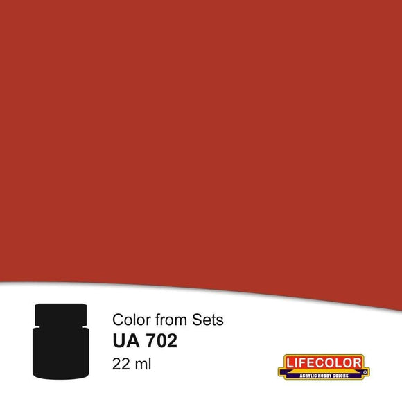 Lifecolor UA702 Rust Base Color (22ml) FS 30109 Acrylic Paint - SGS Model Store