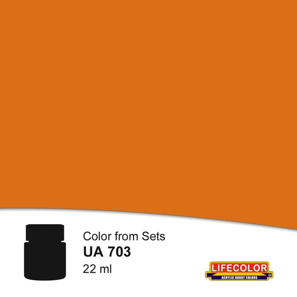 Lifecolor UA703 Rust Light Shadow 1 (22ml) FS 32169 Acrylic Paint - SGS Model Store