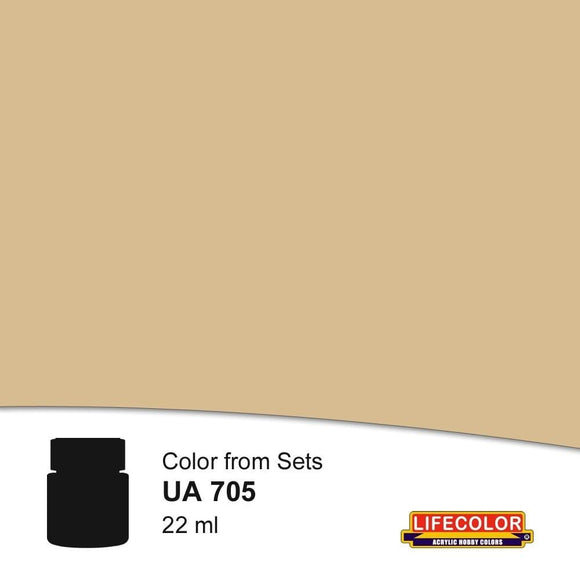 Lifecolor UA705 Dust Type 1 (22ml) FS 36642 Acrylic Paint - SGS Model Store