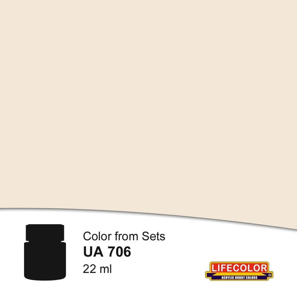 Lifecolor UA706 Dust Type 2 (22ml) FS 33564 Acrylic Paint - SGS Model Store
