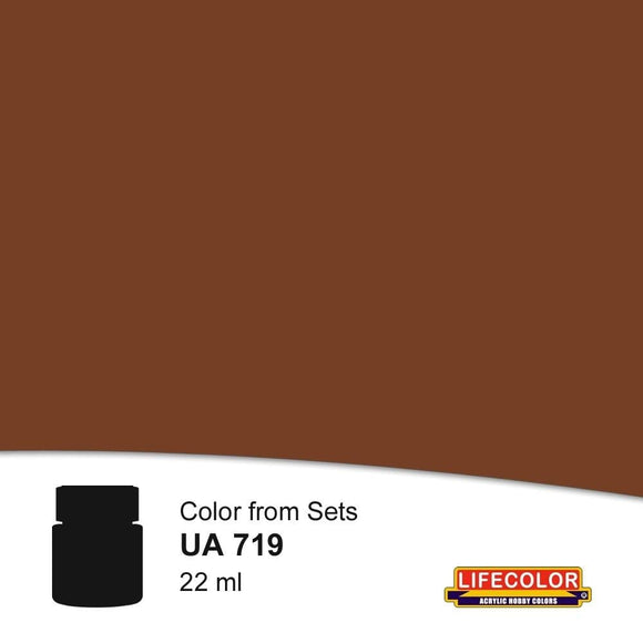 Lifecolor UA719 Rail Frame Dirt (22ml) FS 36120 Acrylic Paint - SGS Model Store