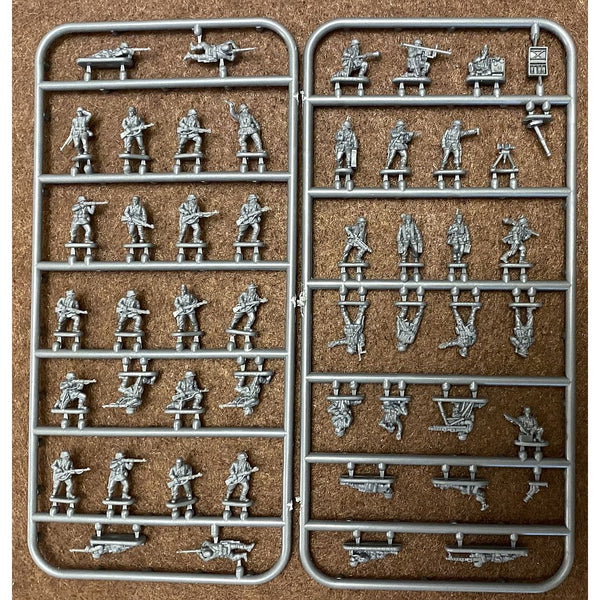 Victrix 12mm WWII Late War German Infantry and Heavy Weapons Sprues