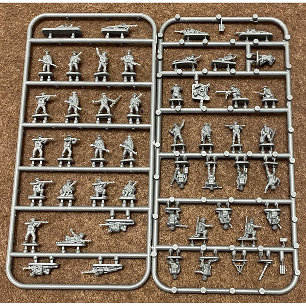 Victrix 12mm WWII Late War British Infantry and Heavy Weapons Sprues