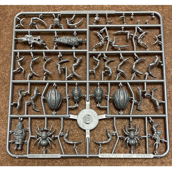 Wargames Atlantic Classic Fantasy 28mm Giant Spiders Sprue