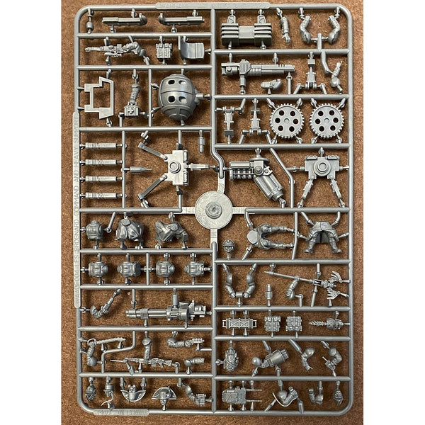 Wargames Atlantic 28mm Les Grognards Command and Heavy Support Sprue
