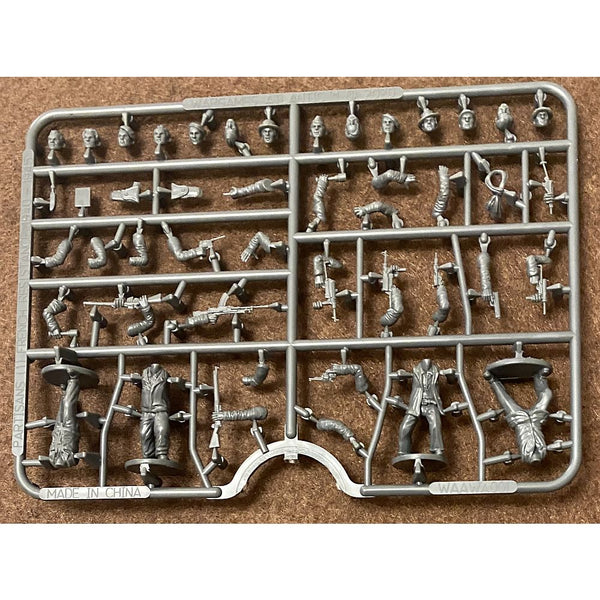 Wargames Atlantic 28mm Partisans French Resistance Sprue
