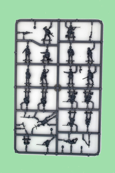 Plastic Soldier Company 1/72 Russian Infantry In Summer Uniform Sprue
