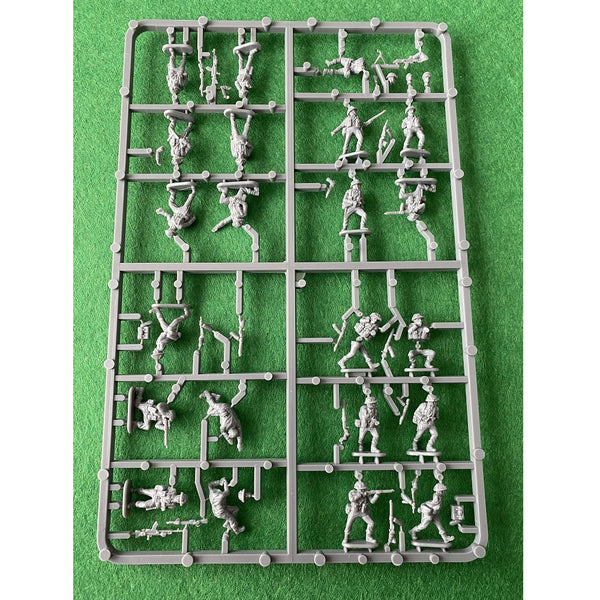 Plastic Soldier Company 1/72 Late War British Infantry 1944-45 Sprue