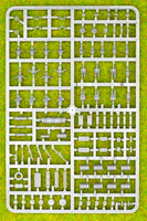 Plastic Soldier Company 15mm German Tank Commanders and Stowage Sprue