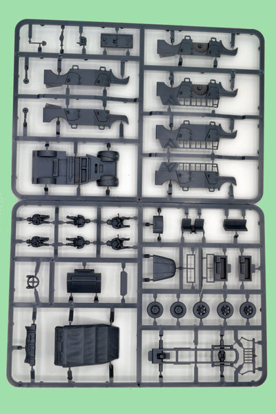 Plastic Soldier Company 1/72 German Steyr Heavy Car Sprue