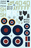 Xtradecal X32020 1/32 Supermarine Spitfire Mk.IXc Model Decals - SGS Model Store