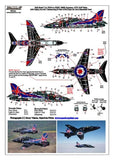 Xtradecal X32034 1/32 BAe Hawk T.1A Model Decals - SGS Model Store