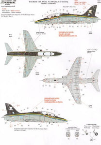 Xtradecal X32037 1/32 BAe Hawk T.1A Model Decals - SGS Model Store