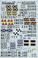Xtradecal X48046 1/48 Gloster Meteor F.4 and Gloster Meteor T.7 Model Decals - SGS Model Store