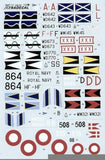 Xtradecal X48051 1/48 Gloster Meteor NF.11/13/TT20 Model Decals - SGS Model Store