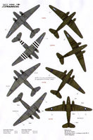 Xtradecal X48064 1/48 Douglas C-47 Dakota/Skytrain Model Decals - SGS Model Store