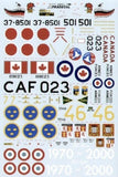 Xtradecal X48070 1/48 BAC TSR-2 What If Pt 3 Model Decals - SGS Model Store