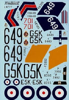 Xtradecal X48073 1/48 Fleet Air Arm Fairey Swordfish Mk.I 1938-39 Model Decals - SGS Model Store
