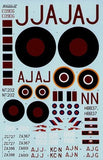 Xtradecal X48075 1/48 617 (Dambusters) Squadron 1943-2008 Model Decals - SGS Model Store