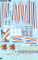 Xtradecal X48095 1/48 BAe Hawk T.1A Model Decals - SGS Model Store