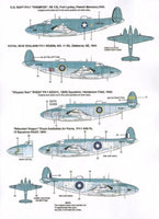 Xtradecal X48097 1/48 Lockheed Vega PV-1 Ventura Model Decals - SGS Model Store
