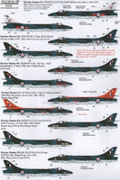 Xtradecal X48105 1/48 Hawker Hunter F.6 and FGA.9 Model Decals - SGS Model Store