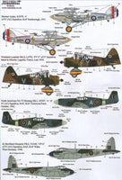 Xtradecal X48106 1/48 RFC/RAF 100 Years of 4 Squadron Pt 1 Model Decals - SGS Model Store