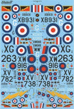 Xtradecal X48107 1/48 RFC/RAF 100 Years of 4 Sqn Pt 2 Model Decals - sgs-model-store-com