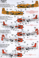 Xtradecal X48112 1/48 North-American T-28B Trojan Model Decals - SGS Model Store