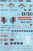 Xtradecal X48113 1/48 RAF Anniversary Update 2011/12 Pt 1 Model Decals - SGS Model Store