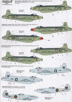 Xtradecal X48117 1/48 Supermarine Spiteful and Supermarine Attacker - SGS Model Store