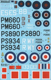 Xtradecal X48118 1/48 Supermarine Spitfire PR Mk.XIX Model Decals - SGS Model Store