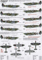 Xtradecal X48123 1/48 Supermarine Spitfire F.Mk.IXc Model Decals - SGS Model Store