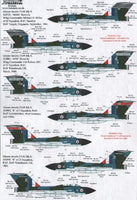 Xtradecal X48125 1/48 Gloster Javelin FAW Mk.9 Part 1 Model Decals - SGS Model Store