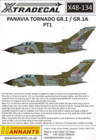 Xtradecal X48134 1/48 Panavia Tornado GR.1 / GR.1A Pt.1 Model Decals - SGS Model Store