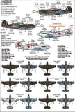 Xtradecal X48162 1/48 Curtiss P-40B Tomahawk Pt 1 Model Decals - SGS Model Store