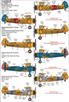 Xtradecal X48168 1/48 Boeing Stearman Kaydet Model Decals - SGS Model Store