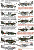 Xtradecal X48179 1/48 Messerschmitt Me 262 Model Decals - SGS Model Store