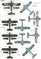 Xtradecal X48182 1/48 Henschel Hs-123 A-1 & B-1 Model Decals - SGS Model Store