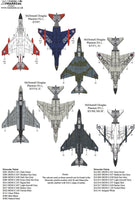 Xtradecal X48186 1/48 McDonnell-Douglas F-4K Phantom FG.1 Model Decals - SGS Model Store